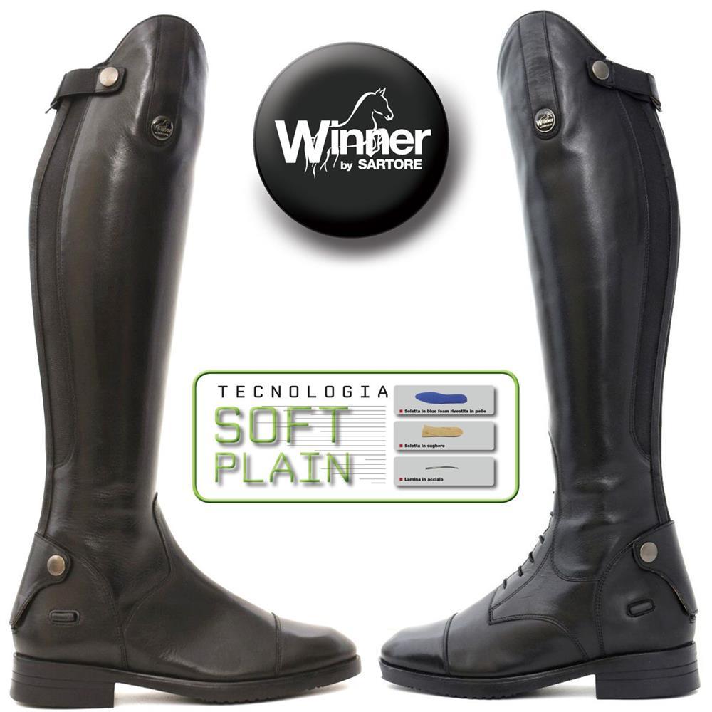 Stivali da equitazione Winner in pelle